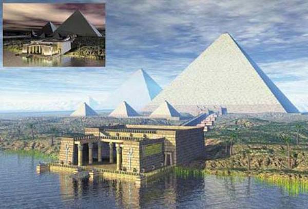 Египетские+пирамиды.+7+чудес+Древнего+Мира