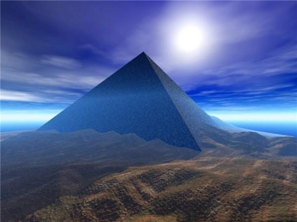 Синяя пирамида
