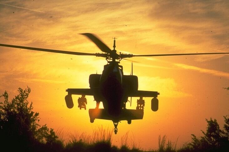 Черный вертолет
