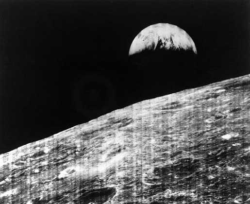 Земля с орбиты Луны