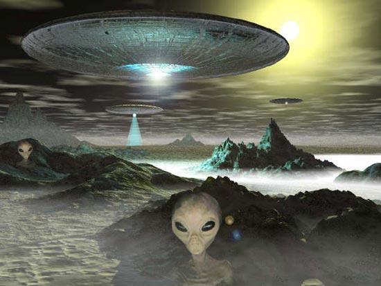 Серые пришельцы2