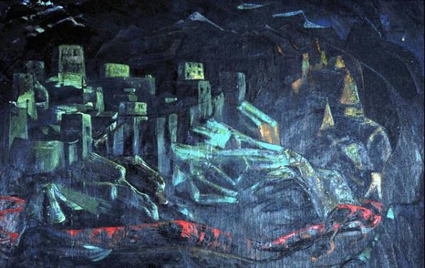 Н.Рерих - Град обреченный