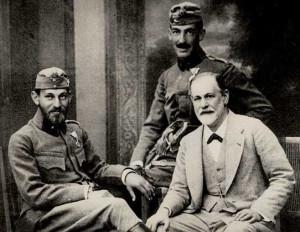 З.Фрейд с сыновьями