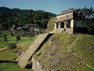 Храмы  майя в Паленке