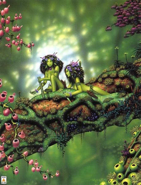 Духи растений