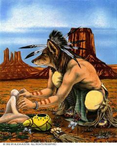 индейский шаман