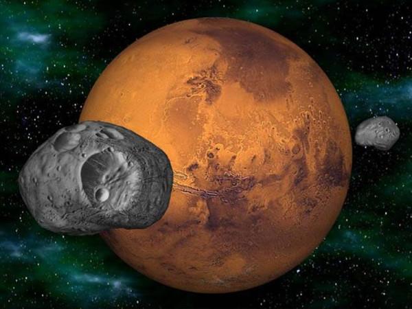 Тайны марсианских спутников.