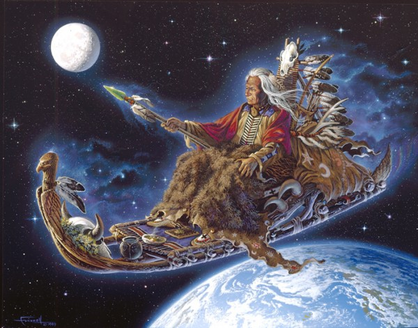 Летящий шаман