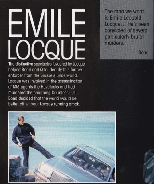 James Bond Villains Book 1