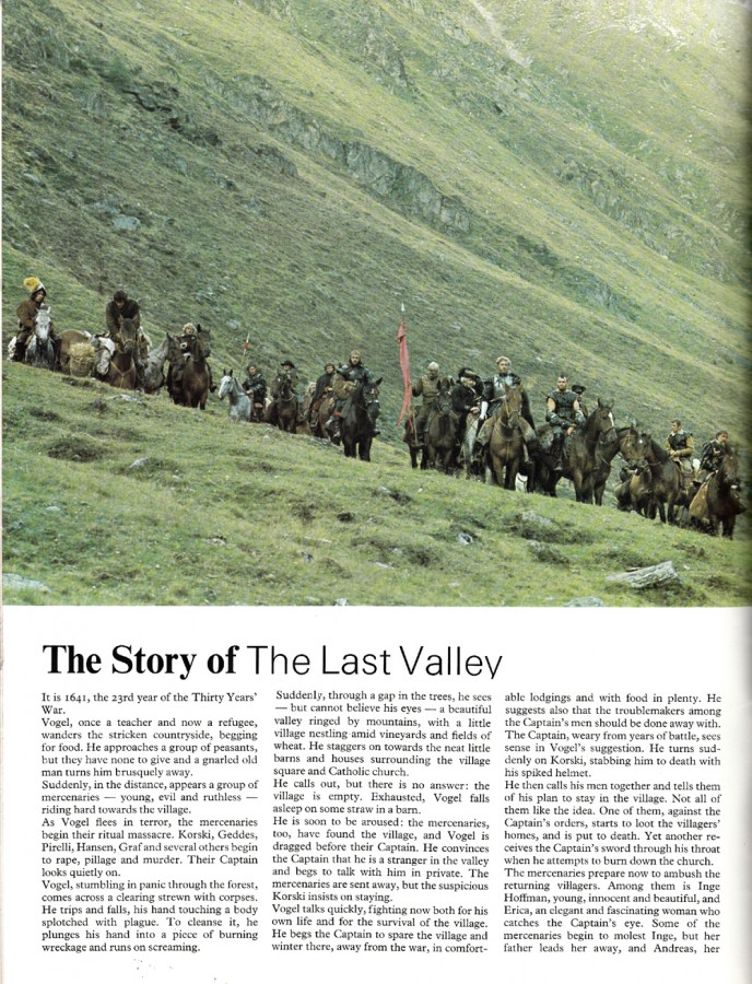 The Last Valley programme 1