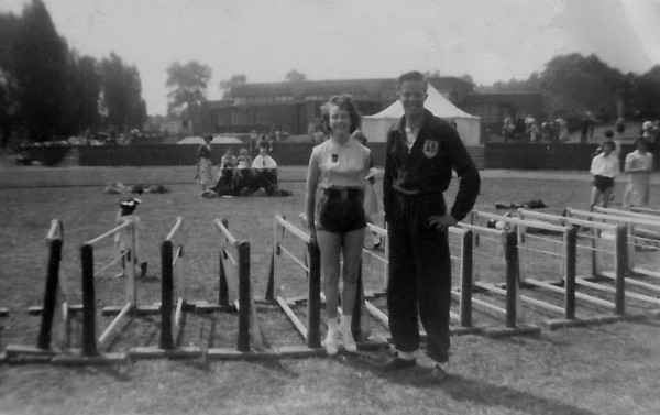 Sports day at Parliament Hill Fields race course 1954/5