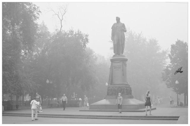 Михаил Кондров. Из серии «Дым Отечества»