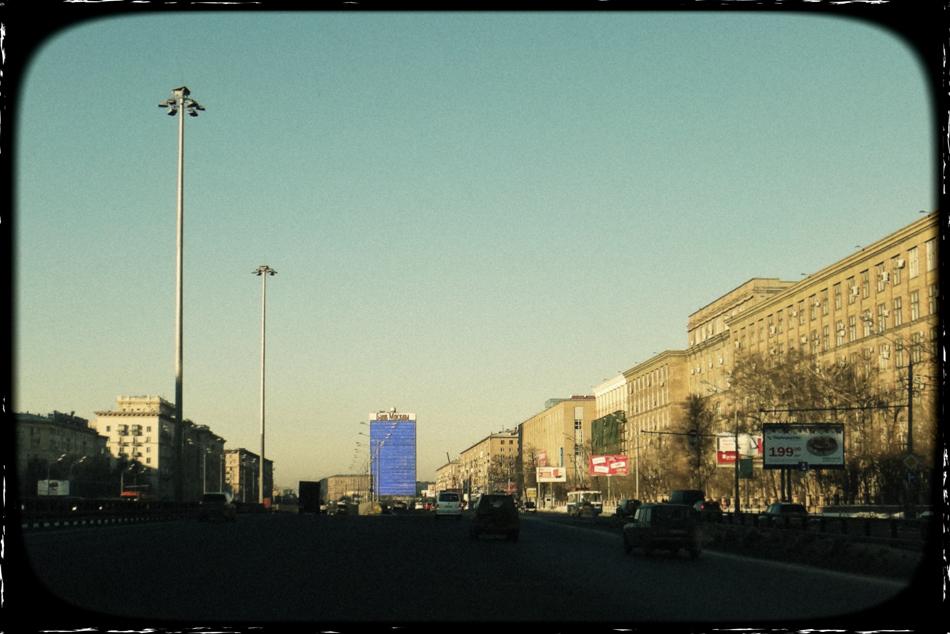 Ленинградка. Москва, 16 декабря 2012 года