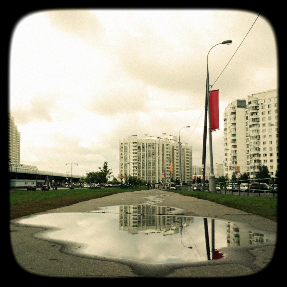 Бутово. Москва, 26 августа 2012 года