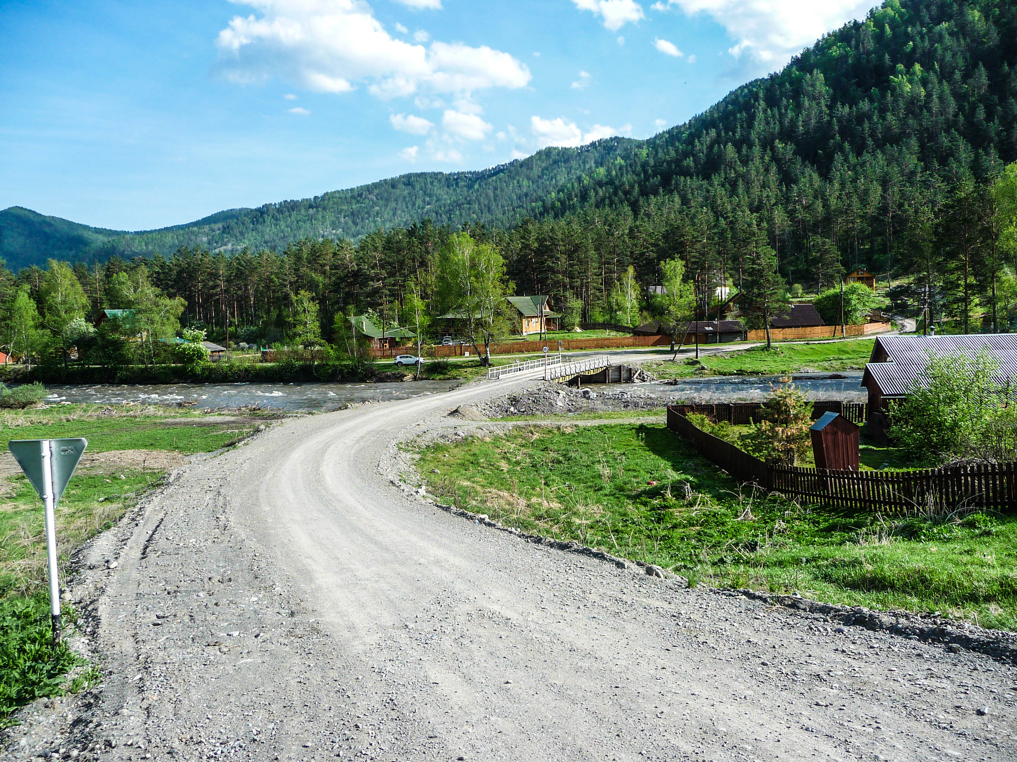 село барангол горный алтай фото