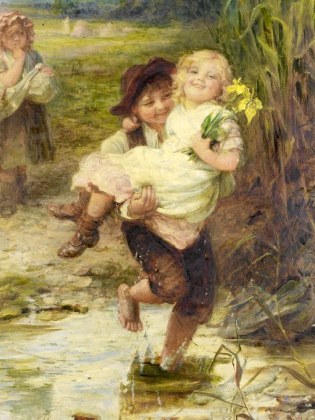 Frederick Morgan -The young gallant