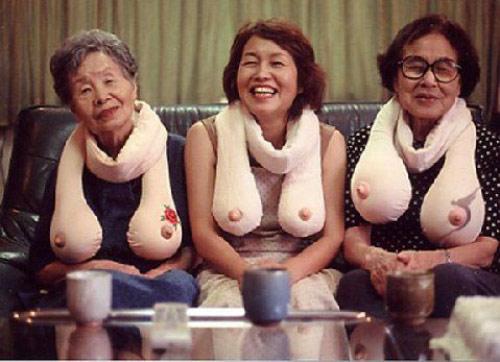 грудь пожилой тетки фото
