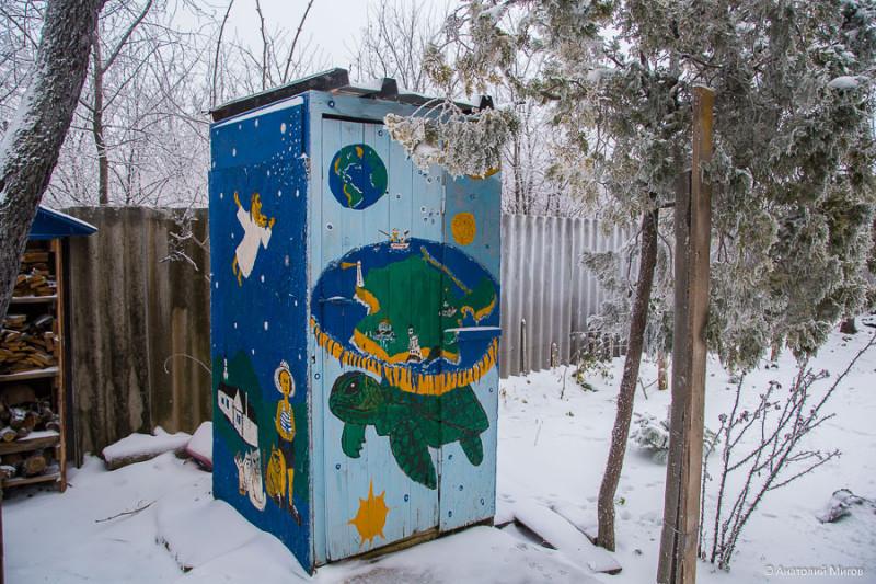 Просто в Крыму зима