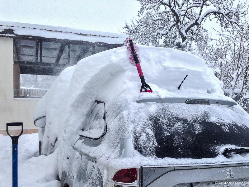 Откопался или такого снега в Крыму я еще не видел
