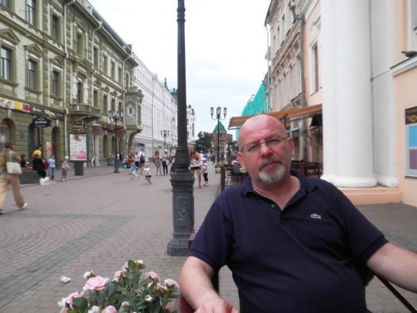 нижний Новгород - в кафе на Покровке