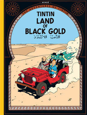 The_Adventures_of_Tintin_-_15_-_Land_of_Black_Gold