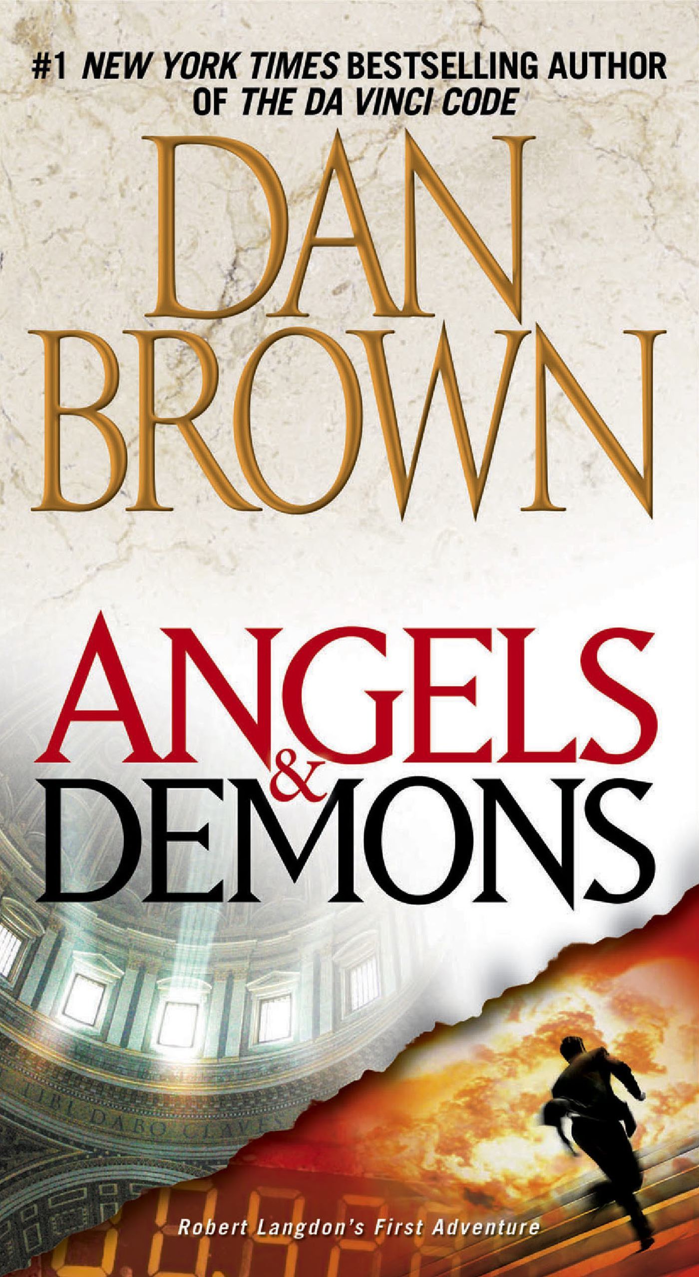 Angels and Demons by Dan Brown.