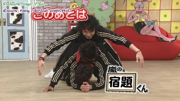 [Arashi no Shukudai-kun] [#120] 2009.02.02 - Nagase Tomoya (sub ita).avi_000000600