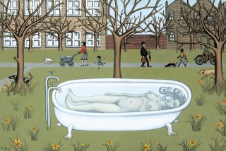 A Bath in the Park