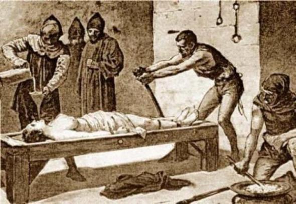 Сексуальные пытки в средние века