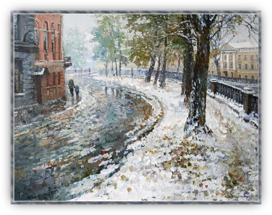 Брюсов первый снег картинки