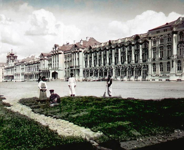 F. Krátký 1896. Carske selo