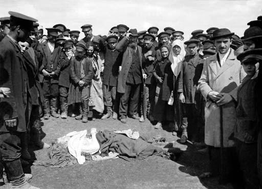 F. Krátký 1896. Tragédie na Chodynském poli
