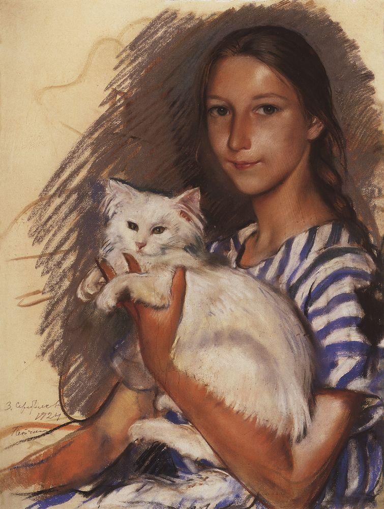 наташа_лансере с котом