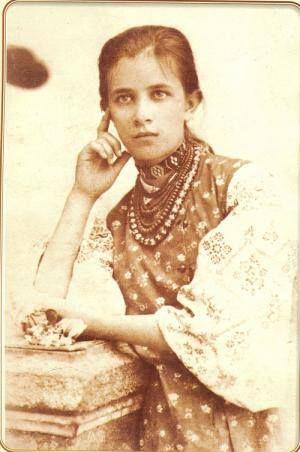 Косач Ольга, сестра Лесі Українки, Варшава, 1896