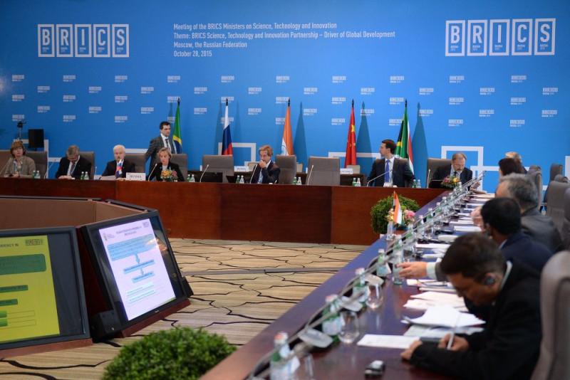 Встреча министров по вопросам науки, технологий и инноваций БРИКС