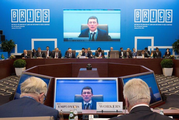 © Фотохост-агентство. Встреча министров труда и занятости.
