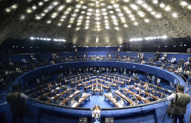Бразильский сенат. © EPA/Cadu Gomes