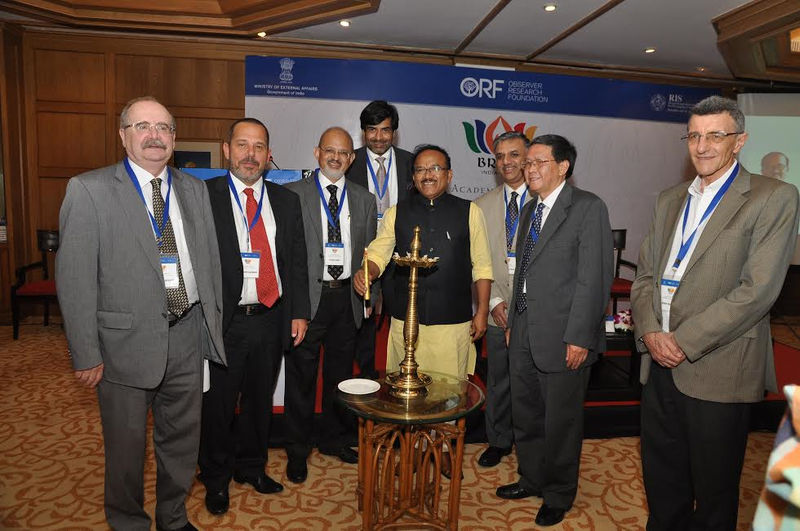 Торжественное открытие 8го Академического форума БРИКС, Гоа, Индия, 2016