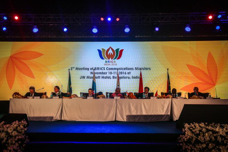 Вторая встреча министров связи стран БРИКС, Бангалор, ноябрь 2016