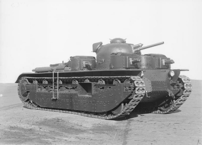 Vickers-A1E1-Independent-Tank