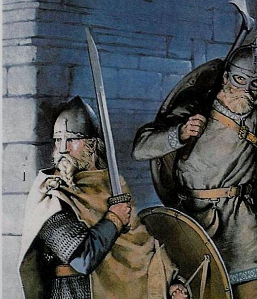 Однолезвейный меч-каролинг.