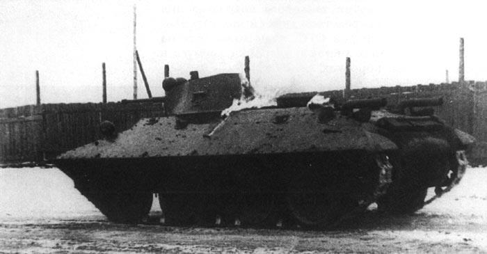Прообраза знаменитого танка Т-