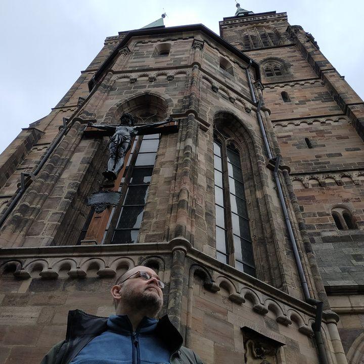 Это в Нюрнберге у не знаю какого собора.