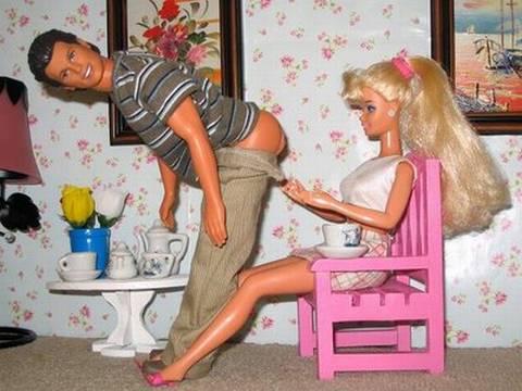 Видео куклы барби секс