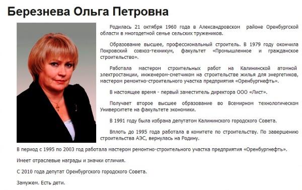 Ольга Березнева