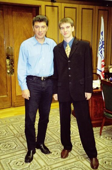 Борис Немцов и Евгений Михеев