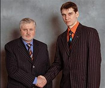 Сергей Миронов и Евгений Михеев 2006 год
