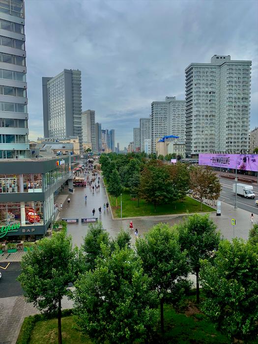 Москва. Новый Арбат.