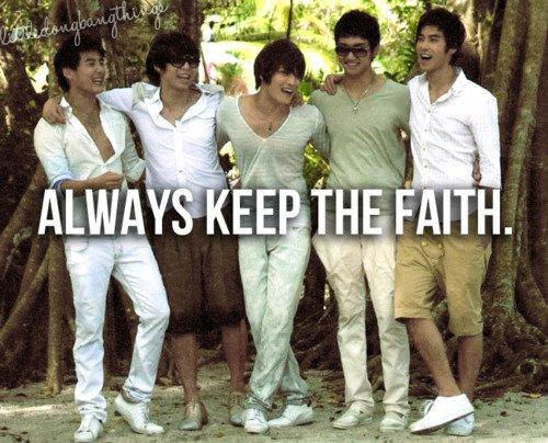 Keep calm and Always Keep The Faith eternally