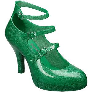melissa-vivienne-westwood-3-strap-green-glitter-shoes-300